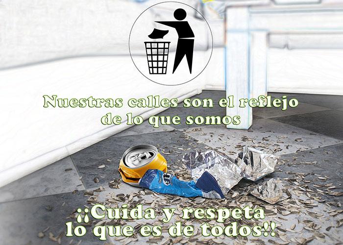 """""""Tu pueblo, tu casa"""" es la nueva campaña de limpieza en los espacios públicos"""