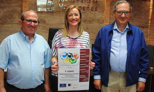 Las XXIV Olimpiadas de Mayores de Valdepeñas apuestan por visibilizar el deporte senior