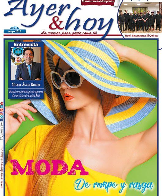 Ayer & hoy – Manzanares-Valdepeñas – Revista Mayo 2018