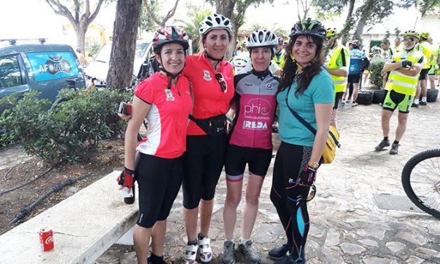 Éxito de participación en la XIII Ruta Cicloturista de Carrión de Calatrava en una soleada jornada