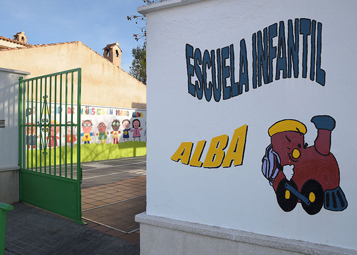 La Escuela Infantil 'Alba' completa en junio las plazas ofertadas de primer año para 2018-19