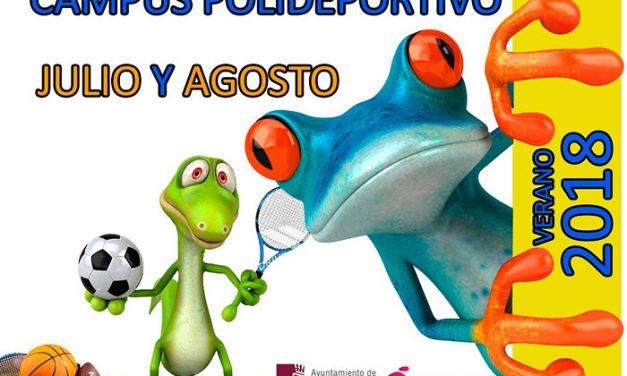 Se abren los plazos de inscripción para los Campus Polideportivos y Joventurasport en Valdepeñas