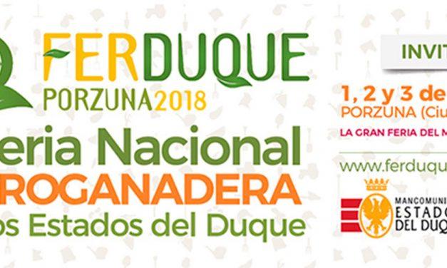 Más de 80 expositores mostrarán en FERDUQUE novedades en maquinaria agrícola y ganadera, alimentación y otros sectores
