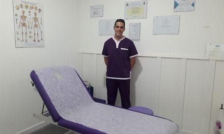 El fisioterapeuta Rubén Alises abre su clínica dentro del Centro de Estética Marber