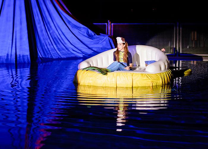 La Piscina Municipal acogerá el espectáculo acuático 'La Sirenita y un Príncipe de Cuento'