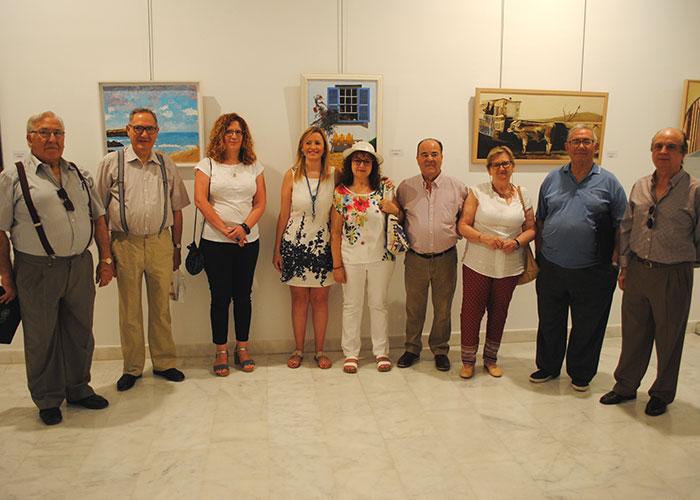 Abre sus puertas la XXXVII Exposición de Pintura y Artesanía de los Mayores de Valdepeñas