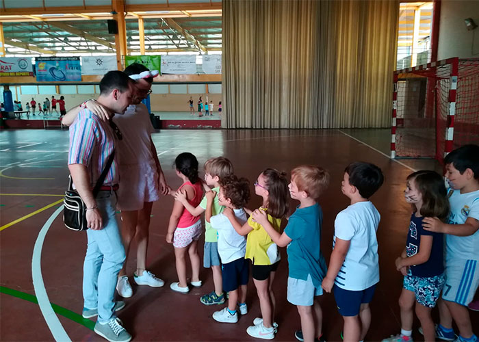 Los más pequeños de Herencia comienzan las actividades de la Escuela de Verano