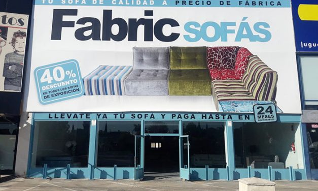 Abre sus puertas Fabric sofás en Miguelturra