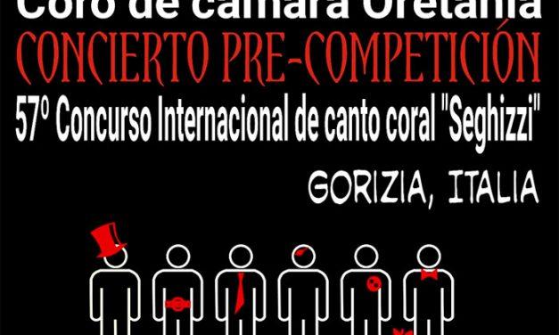 Gran Concierto del Coro de Cámara Oretania en Villanueva de los Infantes