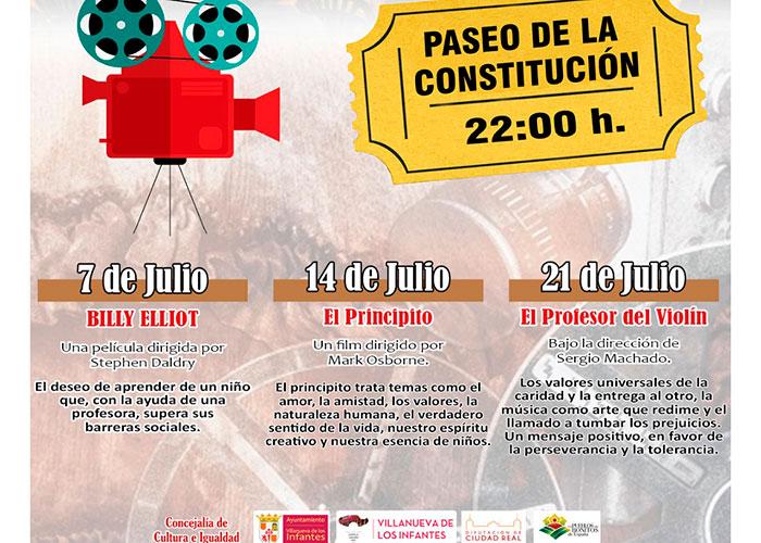 """La II Edición """"Julio, un Mes de Cine en Villanueva de los Infantes' abre con Billy Elliot"""