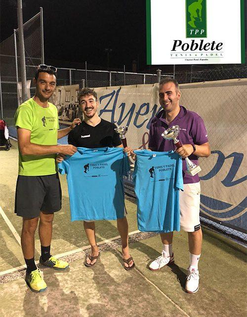 Torneo de Padel nocturno en las instalaciones de Tenis y Pádel Poblete