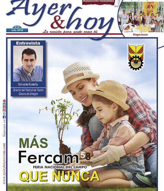 Ayer & hoy – Manzanares-Valdepeñas – Revista Julio 2018