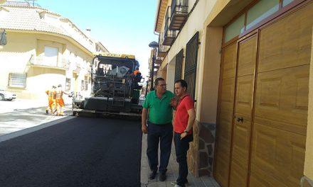 El Ayuntamiento de Herencia pone en marcha el Plan de Asfaltado local del año 2018