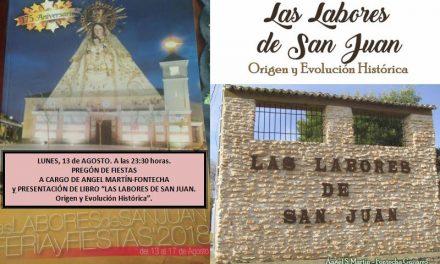 Martín-Fontecha dará el pregón de las fiestas de Las Labores y presentará un libro sobre su interesante historia