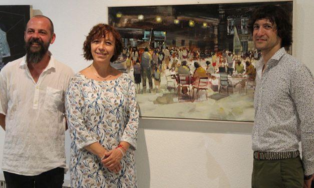 El Museo Municipal acoge hasta el 12 de agosto una exposición retrospectiva de los 18 años de Pintura Rápida