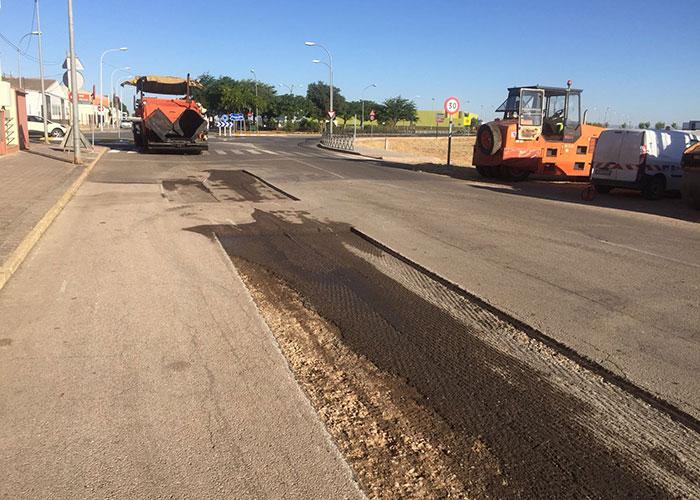 Fomento repara los tramos urbanos de la N-430
