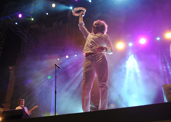 La banda Elefantes pisa fuerte en las LXV Fiestas de la Vendimia y el Vino de Valdepeñas