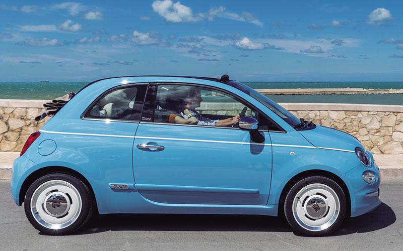 "Exclusivo Fiat 500 ""Spiaggina '58"""