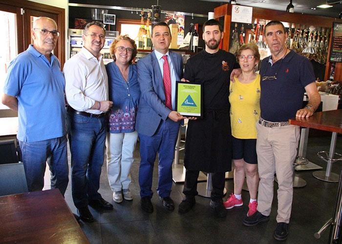 'La Casota', primer restaurante de la provincia reconocido por la Fundación Dieta Mediterránea