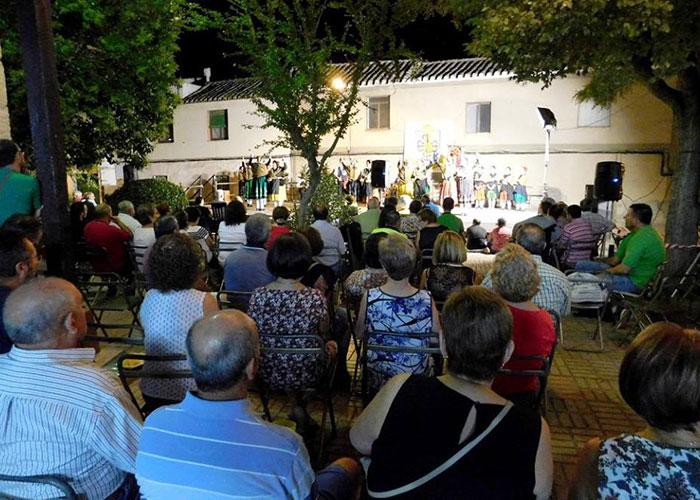 El barrio de San Roque celebra sus fiestas en la víspera de la Asunción de la Virgen