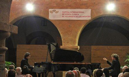 Brillante actuación del Dúo del Valle en la segunda jornada del Festival Internacional de Música Clásica de Villanueva de los Infantes