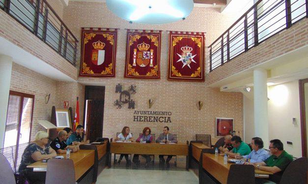 La subdelegada del Gobierno asiste a la Junta Local de Seguridad de las Fiestas de Herencia