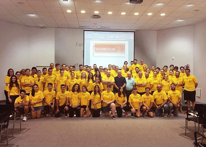 Manzanares sede del Stage Técnico del colectivo arbitral de Balonmano de Castilla-La Mancha