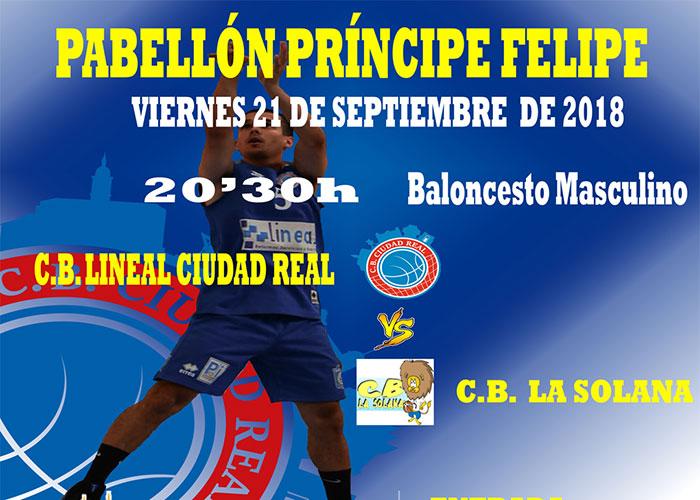 Último amistoso para el Club Baloncesto Lineal Ciudad Real