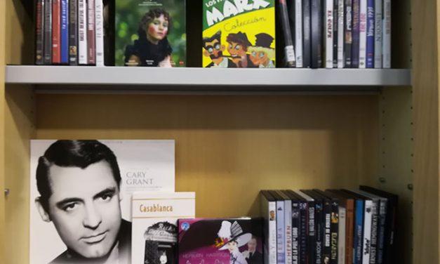 La Biblioteca de Pedro Muñoz ahora también presta películas en DVD