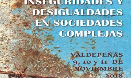 Expertos se darán cita en Valdepeñas en el 'XXIII Congreso de Sociología en Castilla-La Mancha. Congreso Internacional'