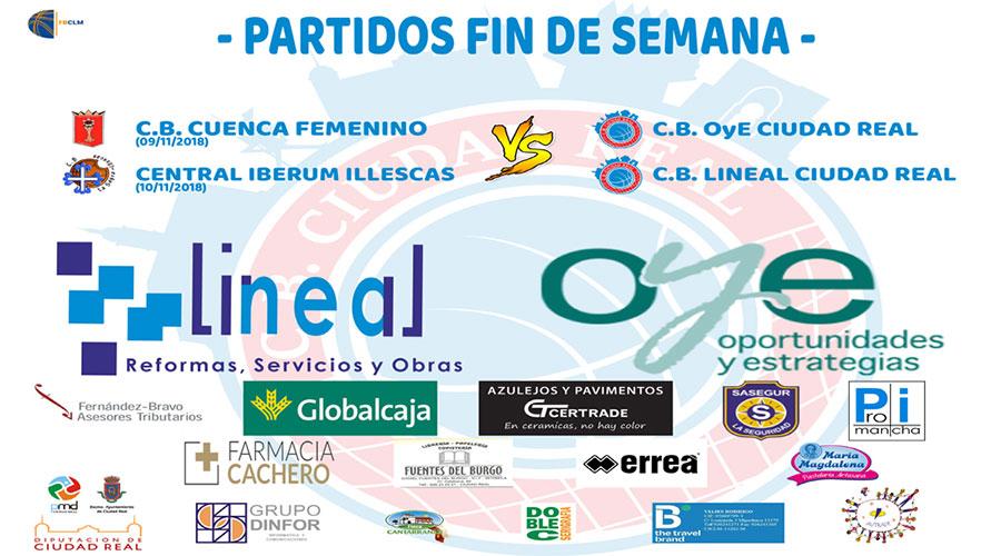 Salida doble para los equipos del Club Baloncesto Ciudad Real