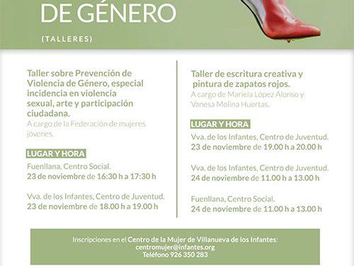 El Centro de la Mujer pone en marcha el proyecto 'Zapatos Rojos contra la violencia de género'