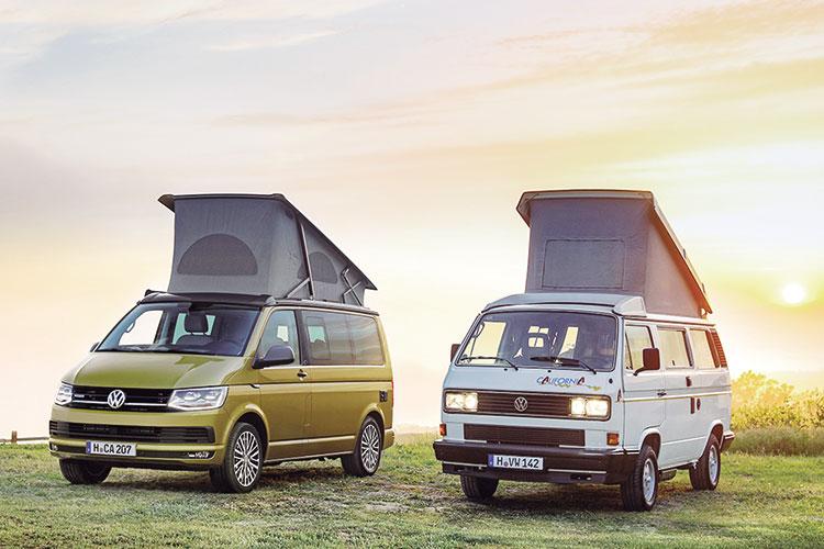 Volkswagen lanza la edición California 30 aniversario