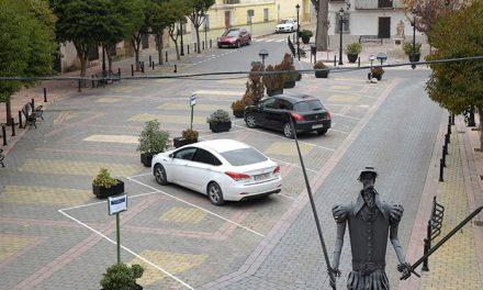Habilitadas nueve plazas de aparcamiento en la plaza Alonso Quijano