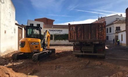 Se ha iniciado la segunda fase de las obras en la calle Santa Elena
