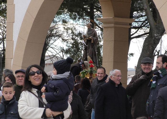 Las luminarias de San Antón podrán encenderse hoy y el 19 de enero