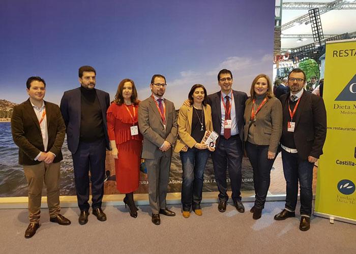 Pedro Muñoz reivindicó su espacio en FITUR