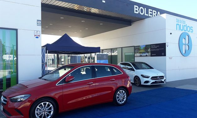 Prueba el nuevo Clase B de Mercedes-Benz en Club Deportivo NUDOS