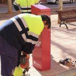 El ayuntamiento instalará nuevas papeleras solicitadas por los vecinos en los presupuestos participativos