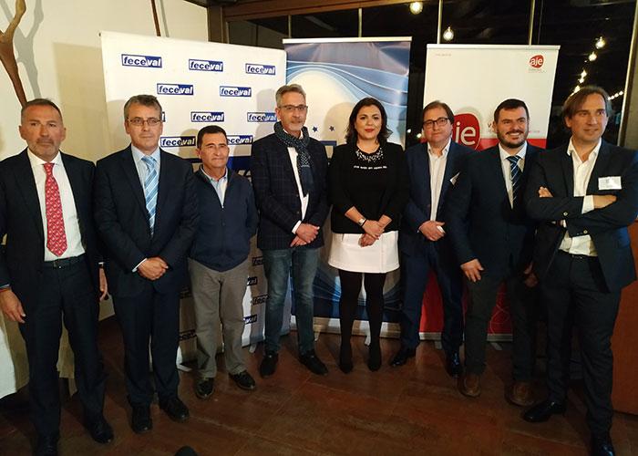 Jesús Martín acompaña a un centenar de empresarios en su introducción a la FP Dual