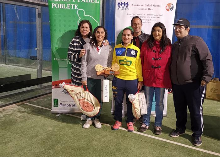 V Torneo de Pádel solidario Salud Mental Ciudad Real en Club de Tenis y Pádel Poblete