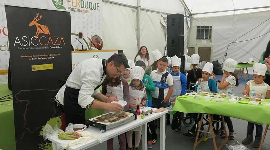 Los chefs Andrés Rodríguez, Aurora García y Diego Morales cocinarán en directo en FERDUQUE 2019