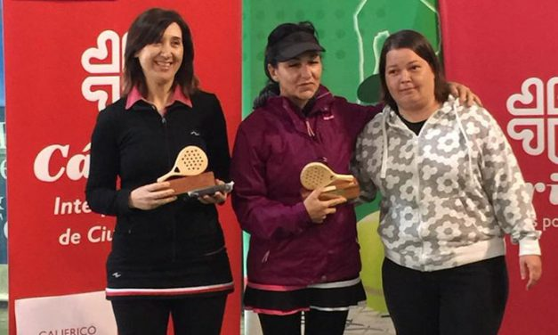 III Torneo de pádel solidario sin techo Cáritas Centro Jericó