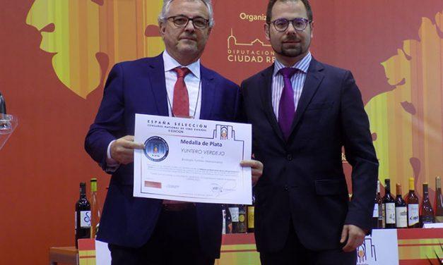 Yuntero Verdejo, Medalla de Plata en el II Certamen de España Selección