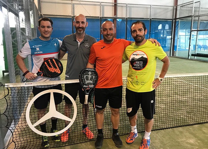 Segunda jornada del Torneo Autotrak de Pádel
