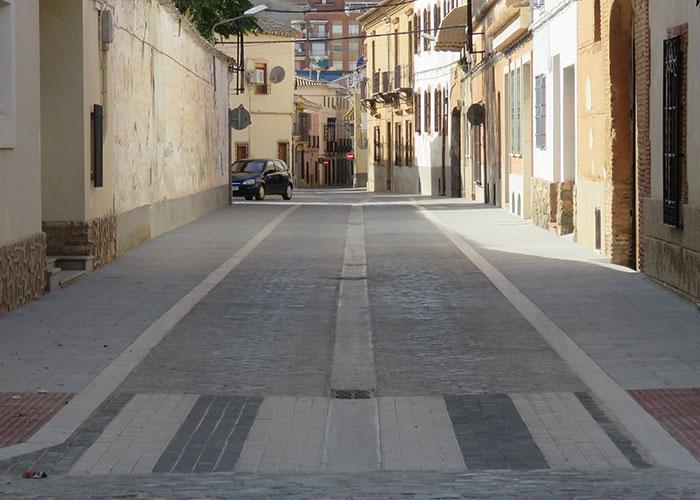 Control de velocidad en calles semipeatonalizadas de Manzanares