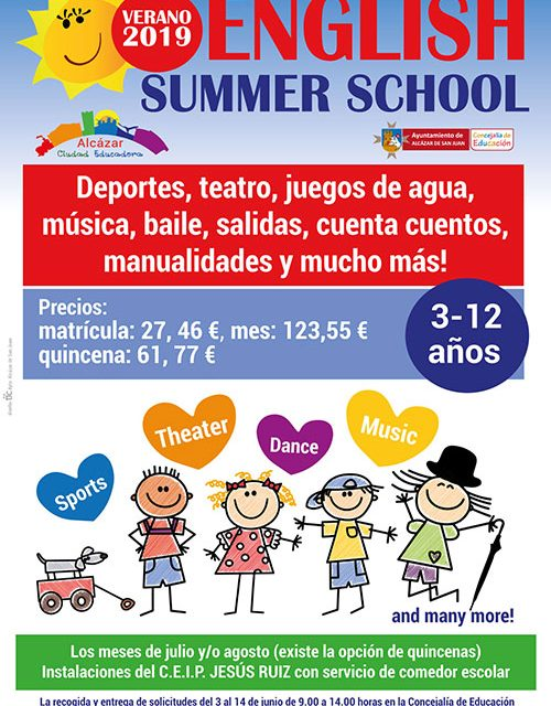 Ya se puede solicitar plaza en la English Summer School