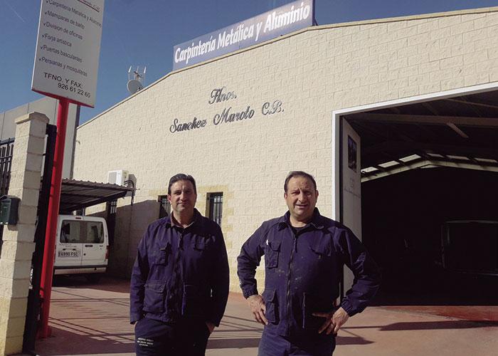 Hermanos Sánchez-Maroto: Especialistas en carpintería metálica