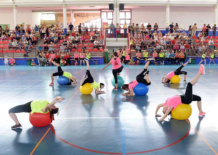 Con mucho ritmo y deporte se clausuraron las Escuelas Deportivas Municipales de Fitness 2018-19