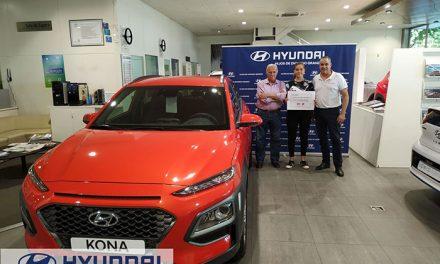 Laura Sánchez Comuñas ganadora del sorteo del Campus Hyundai